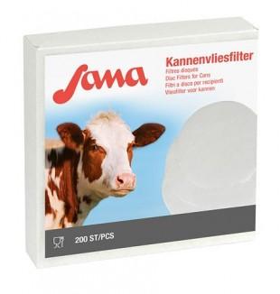 Mléčný filtr kruhový-fleece  Ø 240 mm - balení 200 ks