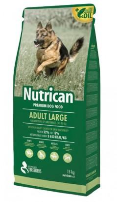 NUTRICAN Adult Large pro dospělé psy velkých plemen 15kg
