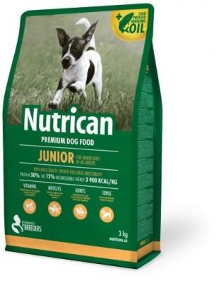 NUTRICAN Junior pro mladé psy malých a středních plemen 15kg
