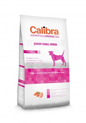 CALIBRA Dog HA Junior Small Breed Chicken pro mladé psy malých plemen