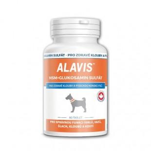 ALAVIS MSM+GS výživa pro psy 60 tbl