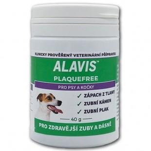 ALAVIS Plaque Free pro psy a kočky 40 g