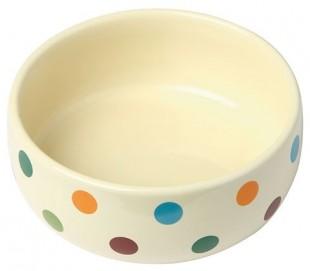 Keramická miska pro psy a kočky barevná 300ml