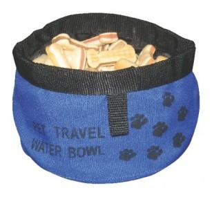 Cestovní miska pro psy o Ø 19cm, různé barvy