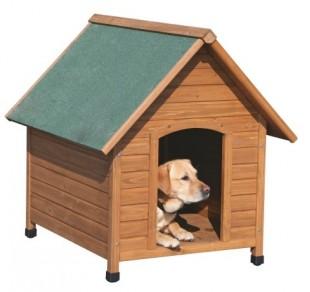 Bouda pro psa dřevěná 85x73x80 cm