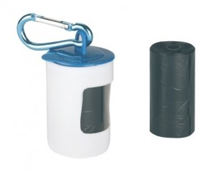 Zásobník plastový se sáčky na exkrementy 2x20ks