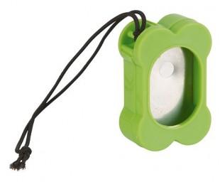 Klicker plastový kost zelený