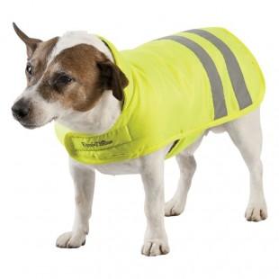 Deka E-T FLUO žlutá pro psy
