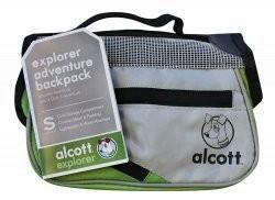 Alcott batoh pro psy zelený