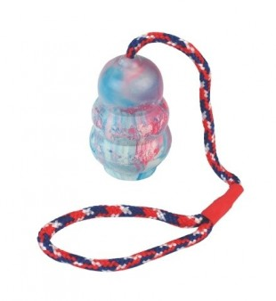 Hračka gumová jumper na laně