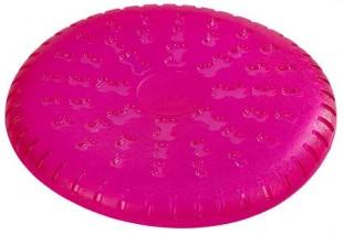 Hračka gumová ToyFastic Frisbee 23,5 cm růžová