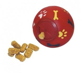 Hračka míček na pamlsky pro psy