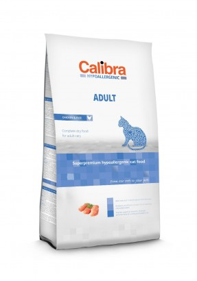 CALIBRA Cat HA Adult Chicken granule pro dospělé kočky