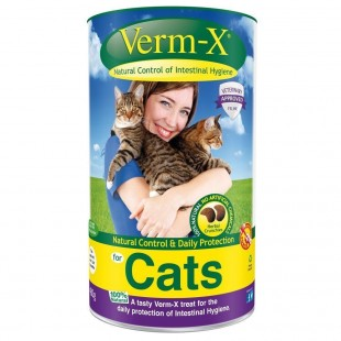 Verm-X Cats tablety 60g