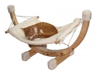 Houpací lehátko SIESTA pro kočky 73x36x34cm