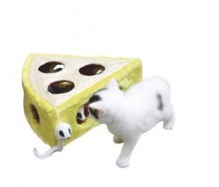 Hračka CHEESY sisal pro kočky 28x28x10cm