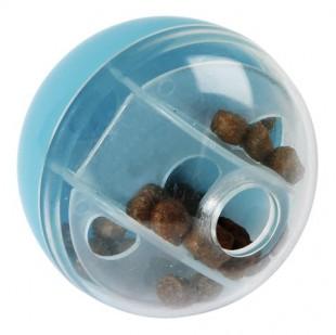 Hračka míček na pamlsky pro kočky 5cm