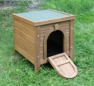 Doupě pro králíky HUTCH dřevěné 36x36x40cm