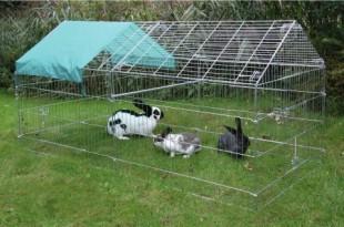 Venkovní kotec PEN pro králíky 103x103x220cm