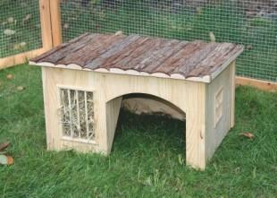 Domek NATURE pro hlodavce dřevěný 42x34,5x27cm