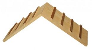 Mostek dřevěný do vchodu klece pro hlodavce 35x17x20cm