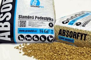 Podestýlka ABSORFYT granulát 14kg