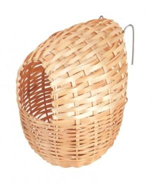 Hnízdo bambusové 12x10cm