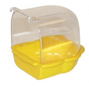 Bazének pro papoušky závěsný do klece 14x15cm
