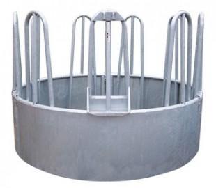 Kovový krmelec kruhový na balíky o Ø 170cm, 9 míst