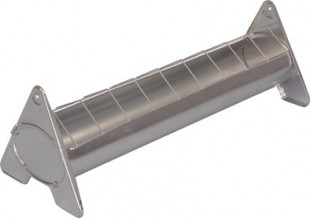 Krmítko kovové šířka 7cm pro kuřata