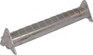 Krmítko pro drůbež šířka 13cm pozink plech