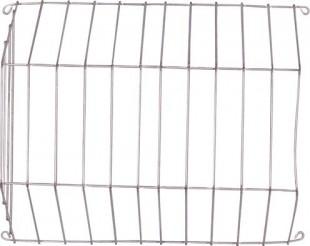 Jesle na seno pro králíky boční plnění šířka 34cm