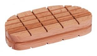 Dřevěný špalek pro paznehty 112mm