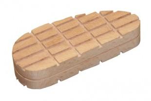 Dřevěný špalek pro paznehty velký 130mm