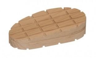 Dřevěný špalek pro paznehty šikmý 112mm