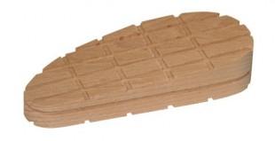 Dřevěný špalek pro paznehty velký šikmý 130mm