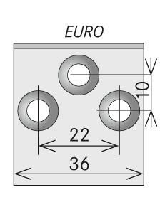 Náhradní nože EURO širší-pár