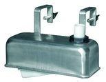 Plovákový ventil s nerezovým krytem a úchytem