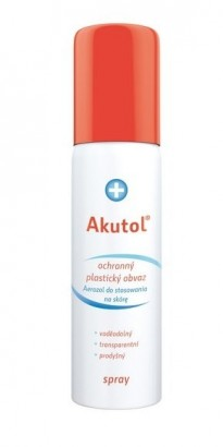 AKUTOL Spray tekutý obvaz 60ml