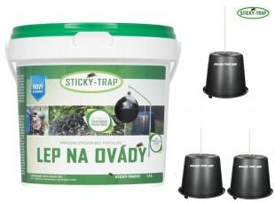 Lep na ovády STICKY-TRAP 1,5kg + 3 kbelíky