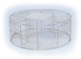 Past na ptáky kruhová velká 100x50cm