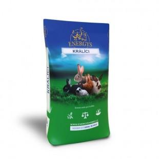 ENERGYS Králík Champion granule 25kg
