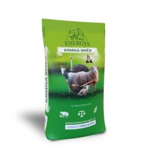 ENERGYS Pštros Uni granule 25kg