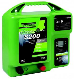 Elektrický ohradník síťový BEAUMONT Classic S200, 230V  1,1J