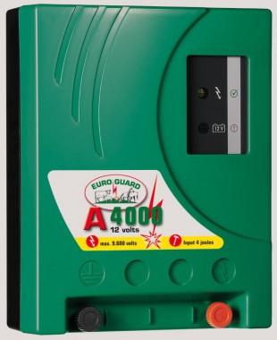 Elektrický ohradník bateriový EURO GUARD A4000 4/2,6J