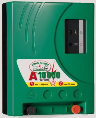 Elektrický ohradník bateriový EURO GUARD A10000 7,4/4,8J