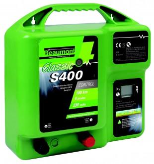 Elektrický ohradník síťový BEAUMONT Classic S400, 230V  2,4J