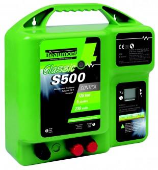 Elektrický ohradník síťový BEAUMONT Classic S500, 230V 3,6J