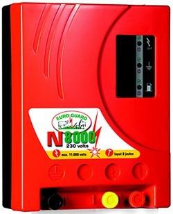 Elektrický ohradník síťový EURO GUARD N8000 s automat.regulací 8/6J