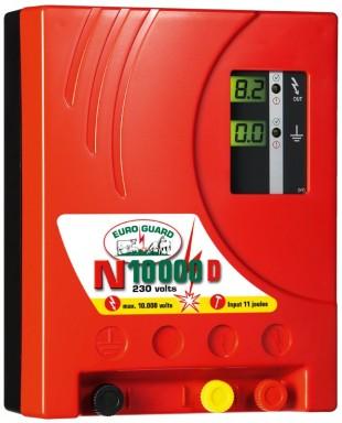 Elektrický ohradník síťový EURO GUARD N10000 D s automat.regulací 13/9J